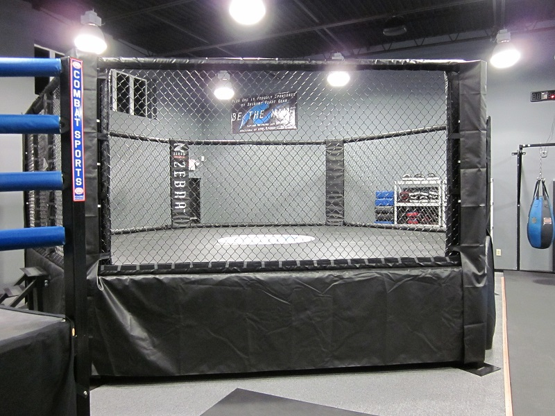 MMA Cage at Plus One Defense Systems, West Hartford, CT