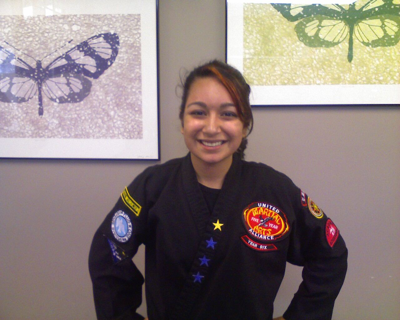 Marissa Malik – 1st Degree Youth Black Belt