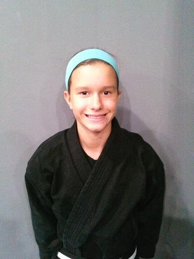 Sophia Giuffria – 1st Degree Youth Black Belt
