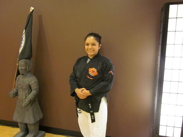 Fresia Morales – 3rd Degree Black Belt