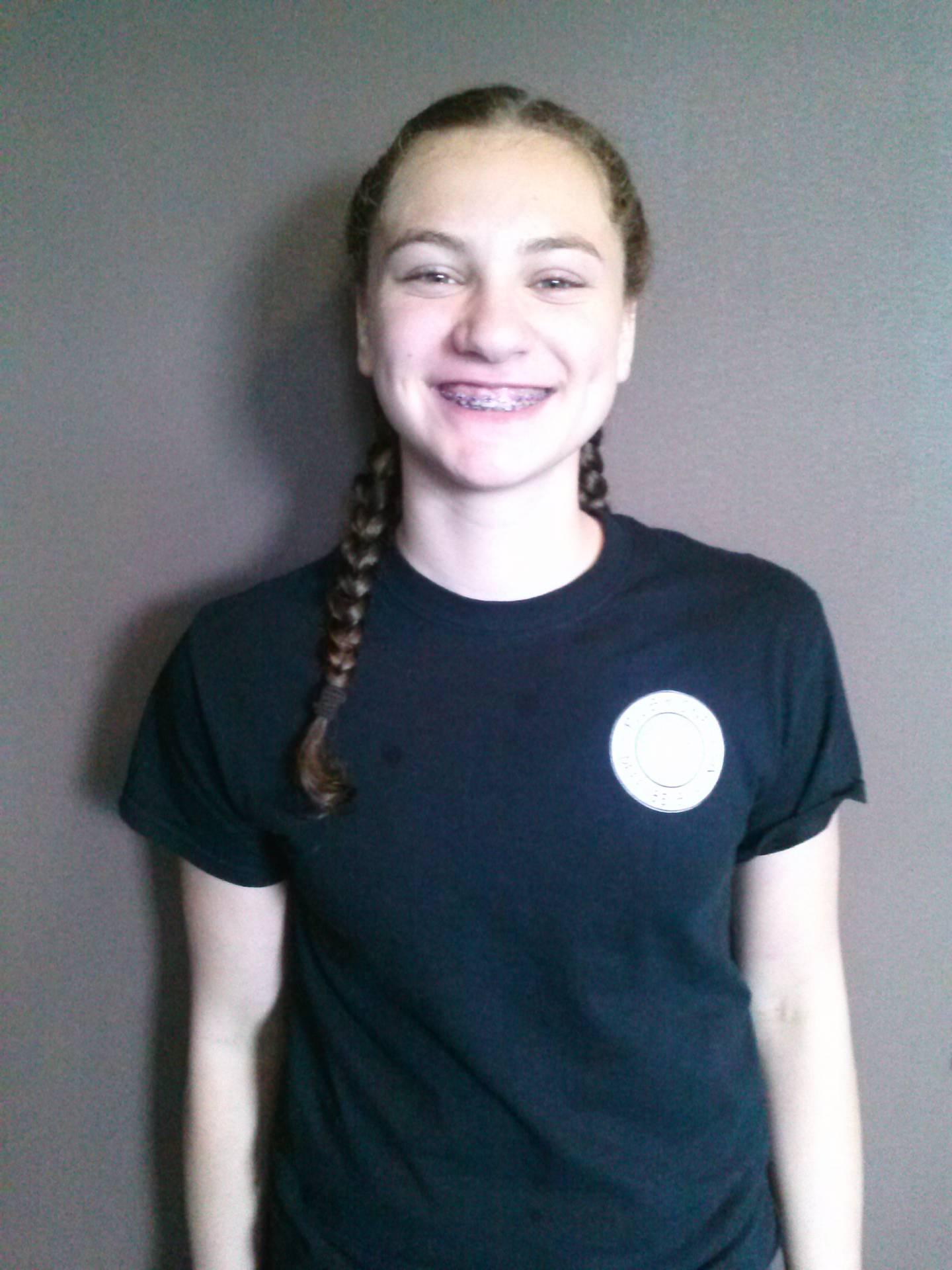 Isabella Raviv – 1st Degree Youth Black Belt