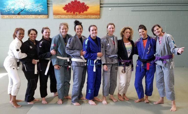 Marlene Black Belt WBJJ Group Pic